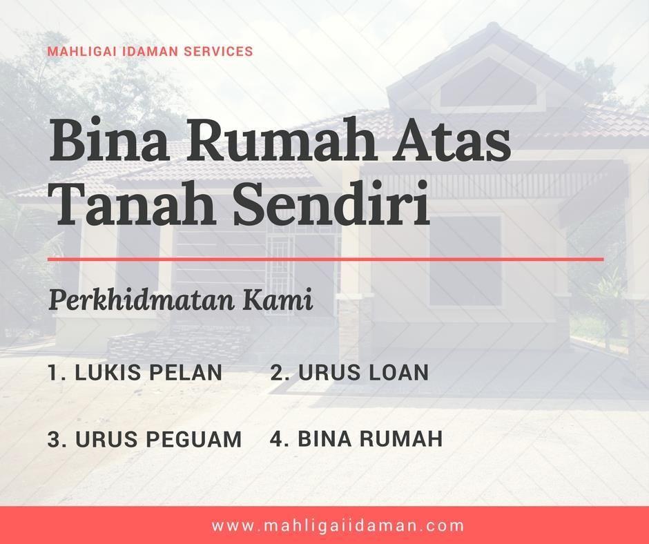 Pelan Rumah Idaman Bermanfaat Bina Rumah atas Tanah Sendiri Di Kelantan & Terengganu