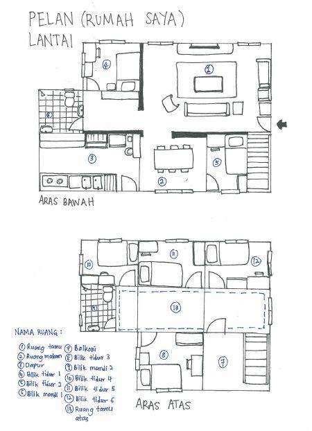 Pelan Rumah Idaman Saya Hebat Pelan Lantai Rumah Idaman Saya – Rumah Dan Saya