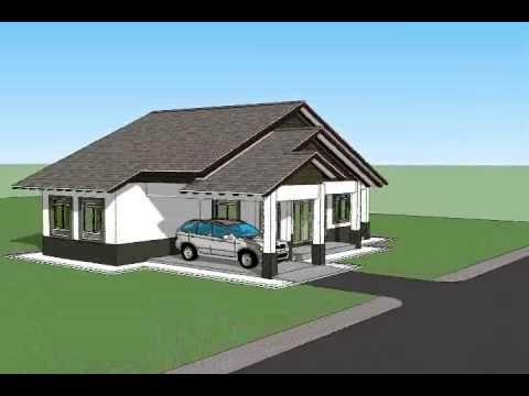 Pelan Rumah Impian Power Pelan Rumah B1 04 Pelan Rumah Banglo Setingkat 3 Bilik 2 Bilik Air