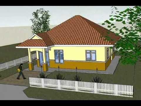 Pelan Rumah Kampong Berguna Pelan B1 21 Pelan Banglo Setingkat 3 Bilik 1 Bilik
