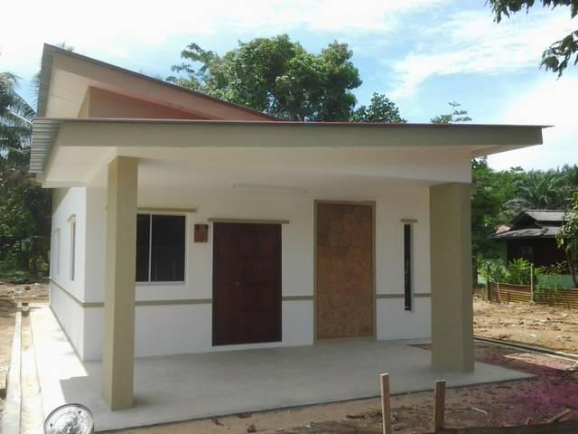 Pelan Rumah Kampong Hebat Rumah Barjet & Cantik