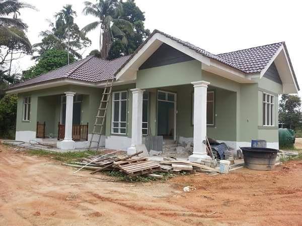 Pelan Rumah Kampung 2 Bilik Terbaik Rumah Cantik Dalam Kawasan Kota Bharu Lokasi 150m Dari Jalan Utama