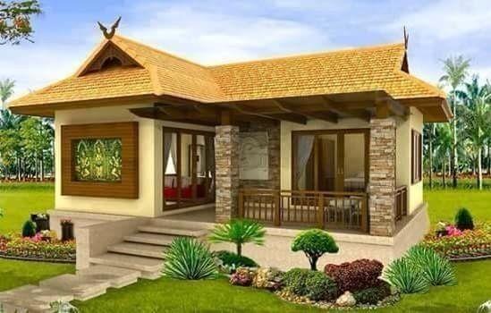 Pelan Rumah Kampung Modern Terbaik Rumah Kampung Modern Rekabentuk Rumah Kayu Moden Reka Bentuk Rumah