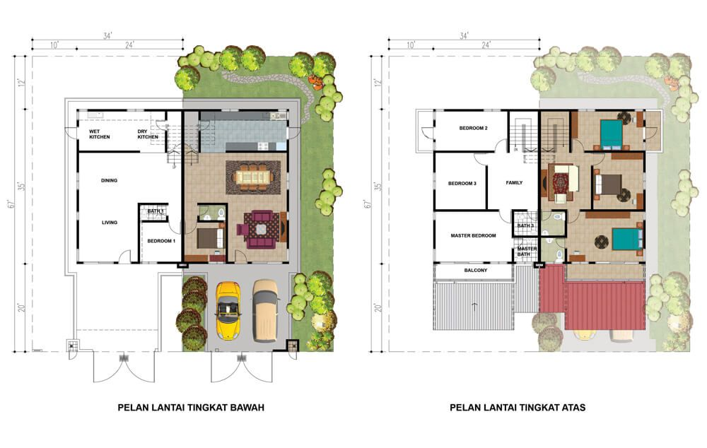 Pelan Rumah Kedai 1 Tingkat Menarik Taman Kelubi Idaman – Spnb Idaman Sdn Bhd