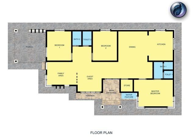 Pelan Rumah Kediaman Berguna Spesifikasi Pelan Design
