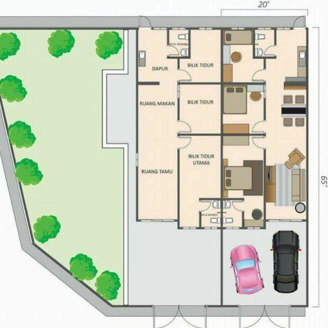 Pelan Rumah Kondominium Bermanfaat Rumah Teres Murah Below 150k New Single Storey House Property