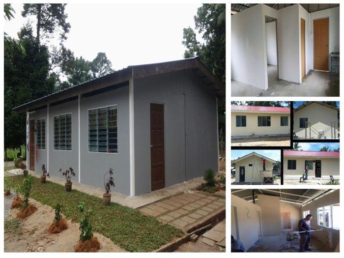Pelan Rumah Kos Rendah 2 Bilik Terbaik Bina Rumah Tiga Bilik Dengan Kos Hanya Rm19 900 Ikhtiar Bantu