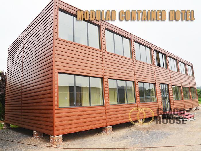 Bangunan kontena Modular murah dan berkualiti tinggi