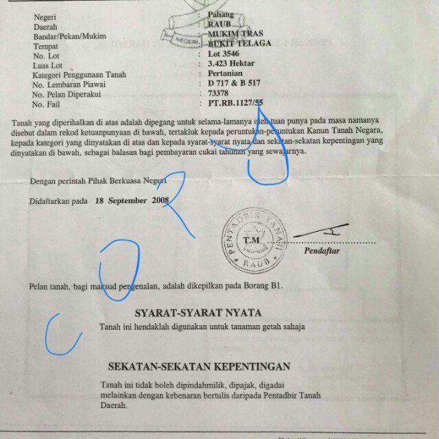 Pelan Rumah Lereng Bukit Terhebat Tanah Di Raub Pahang Property for Sale On Carousell