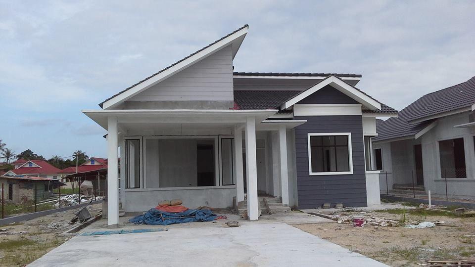 Rumah Banglo hampir siap Kg Delima Wakaf Bharu Kelantan Lokasi 500m