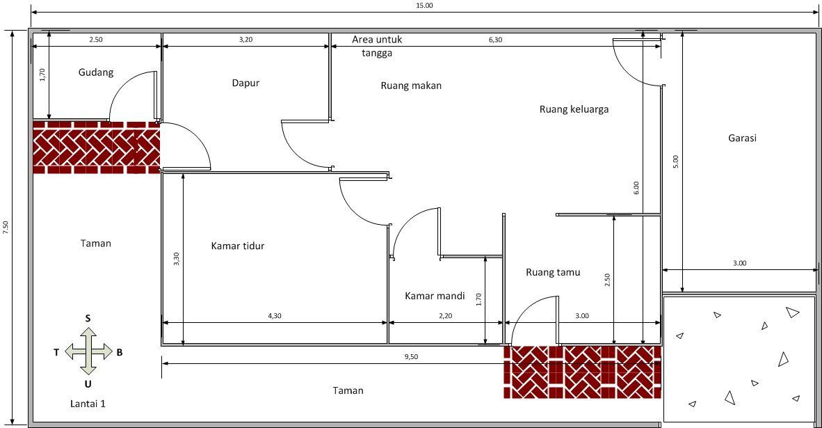 Desain lantai 1