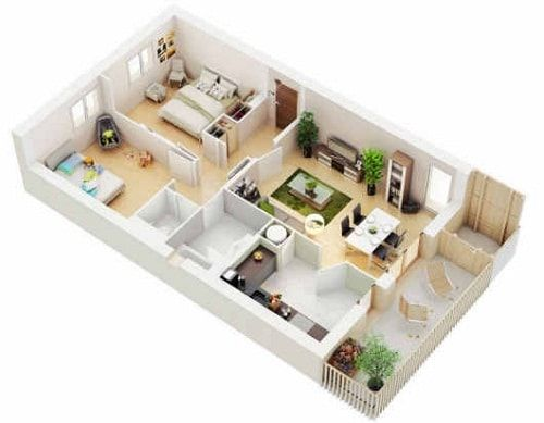 Pelan Rumah Memanjang Terbaik Denah Rumah Idaman Minimalis Memanjang Lengkap Dengan Sketsa