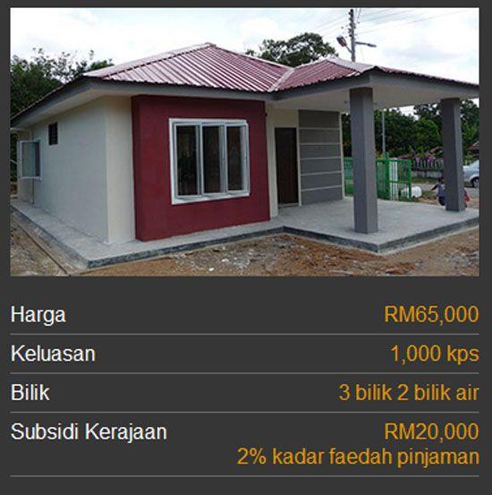 Pelan Rumah Mesra Rakyat 2015 Bernilai 3 Kategori Rumah Mesra Rakyat 1malaysia Spnb