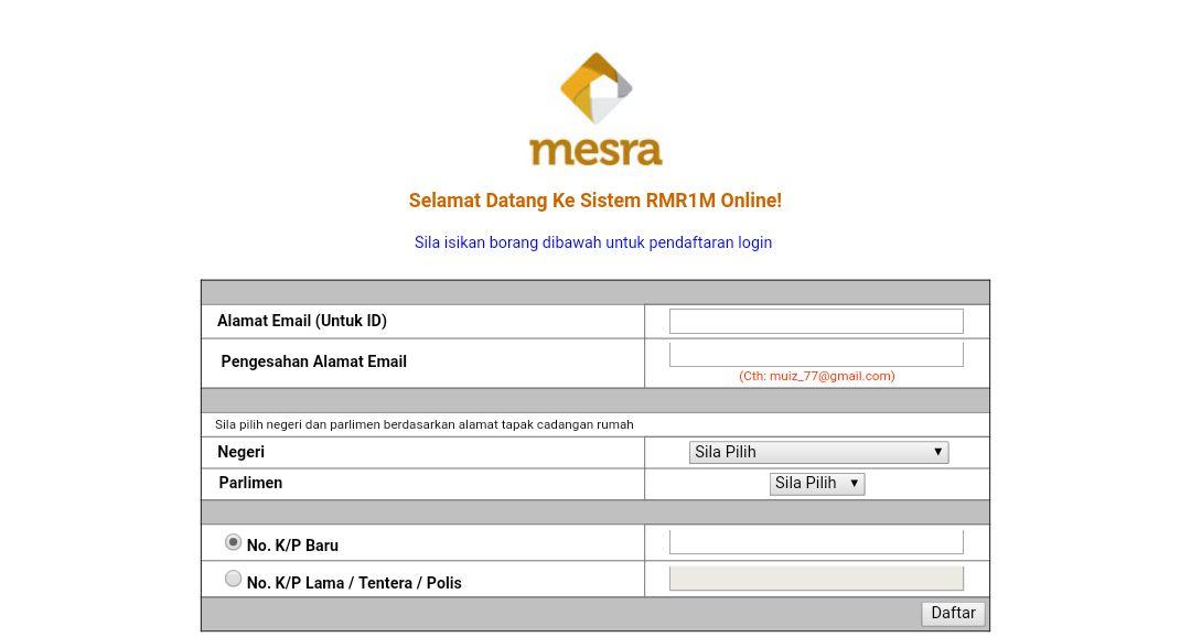 Pelan Rumah Mesra Rakyat 2018 Power Permohonan Rumah Mesra Rakyat 1malaysia Rmr1m Spnb 2019 Line