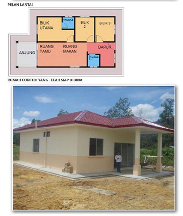 SPNB Sasar Bina 15 152 Rumah Mesra Rakyat 1Malaysia Tahun Ini