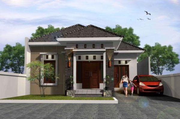 Pelan Rumah Mewah Bermanfaat 60 Gambar Tampak Depan Rumah Minimalis 1 Lantai Sebuah Yang