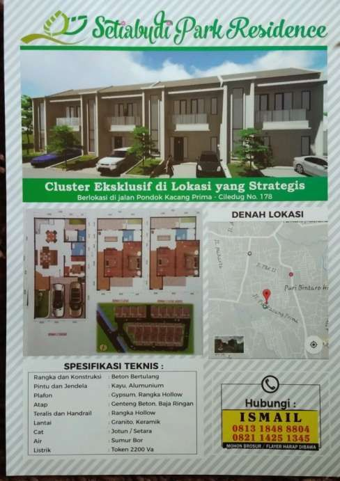 Pelan Rumah Minimalis Di Indon Bernilai Bintaro Rumah Murah Dengan Harga Terbaik Olx
