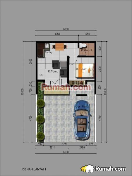 Pelan Rumah Minimalis Di Indon Hebat Rumah Minimalis Di Ciputat Jl Makmur Cipayung Ciputat
