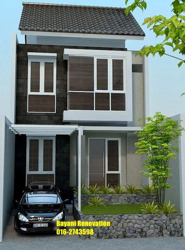 Pelan Rumah Moden Terhebat Plan Rumah Semi D Model Rumah 2 Lantai