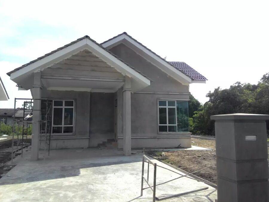 Pelan Rumah Moden Tropika Terbaik Rumah Banglo Setingkat Rekabentuk Tropika Di Kg Baung Jln Pengkalan