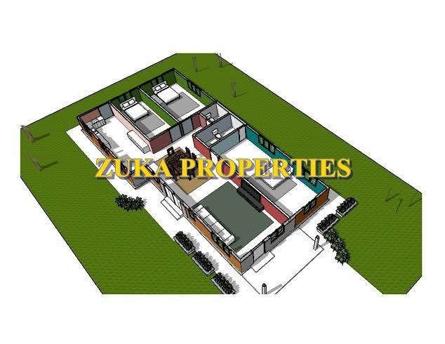 Pelan Rumah Modern 3 Bilik Baik Rumah Zuka Properties Reka Bentuk Zuka