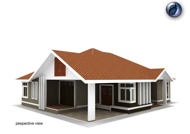 Pelan Rumah Modern 6 Bilik Bermanfaat Design Rumah Banglo Setingkat