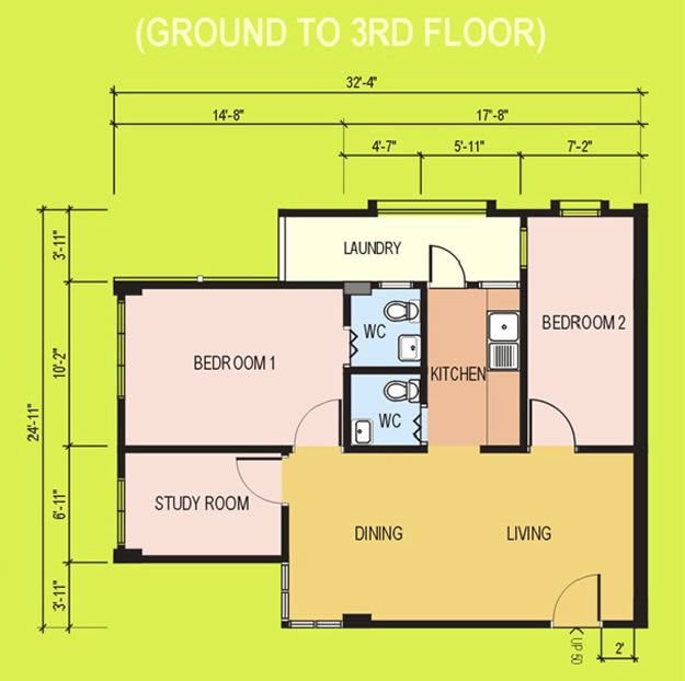 Pelan Rumah Pangsapuri Penting Pelan Apartment