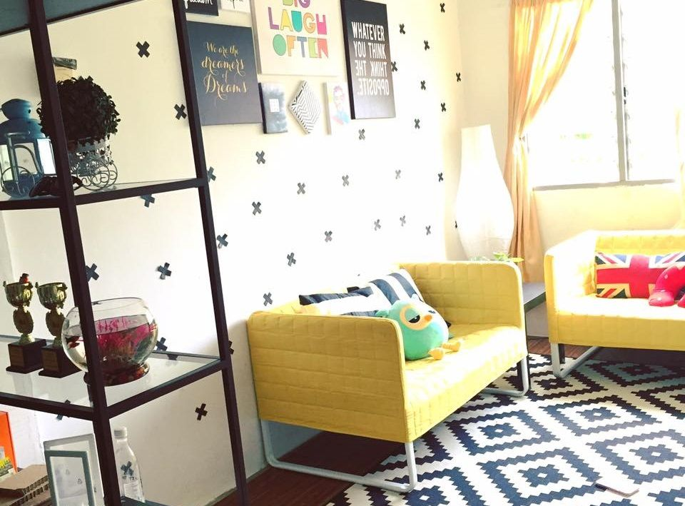 Pelan Rumah Pangsapuri Terbaik Dekorasi Menarik Gaya Ikea Di Rumah Flat Dengan Bajet Minima