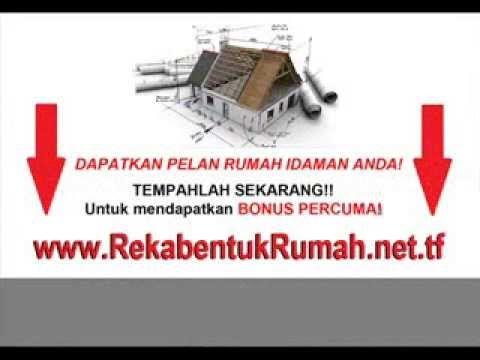 Pelan Rumah Percuma Baik Contoh Pelan Rekabentuk Rumah Banglo