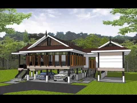 Pelan Rumah Satu Bilik Berguna Pelan Rumah C1 02 Pelan Rumah Banglo Setingkat 3 Bilik 2 Bilik Air