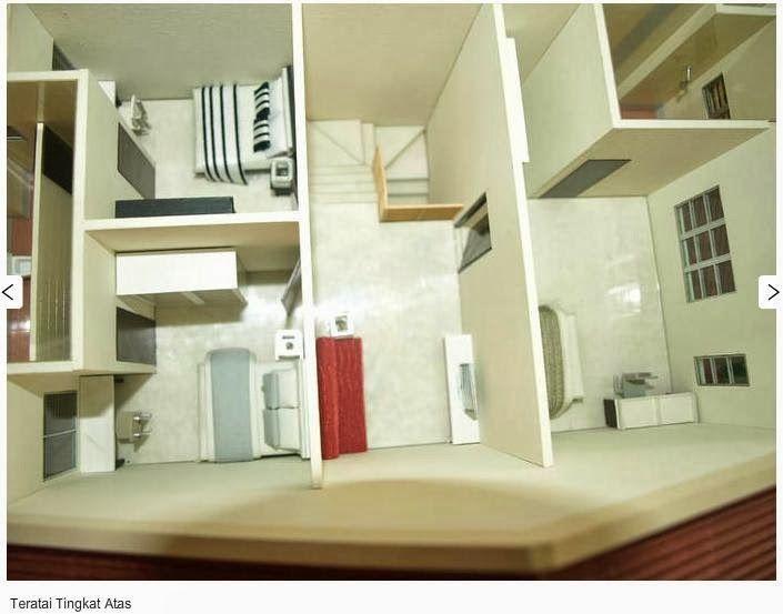 gambar ni pun saya ambil dari website developer ni replika untuk tingkat atas ada 3 bilik yang kanan tu master bed room ada 1 bilik air dlm tu kt