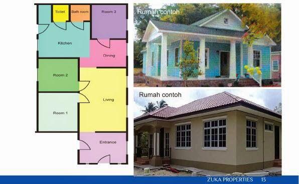 Pelan Rumah Satu Tingkat Bernilai Banglo Mampu Milik Rm200k Kebawah