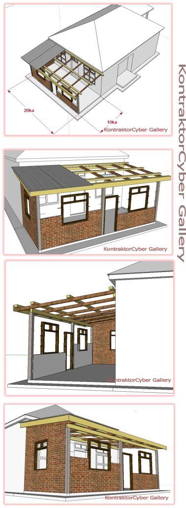 Pelan Rumah Sederhana 3 Bilik Baik Bina Sendiri Rumah Banglo