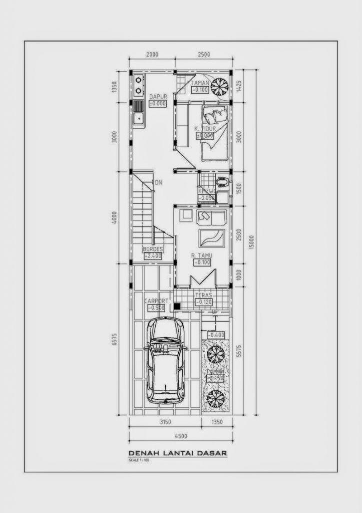 Rumah Sederhana Lebar 5 Meter