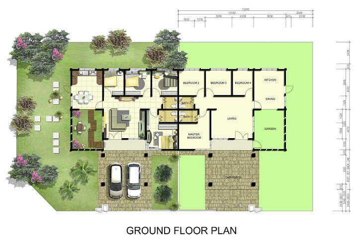 Jenis Rumah Semi D setingkat Keluasan Tanah 50′ x 63′ – 60′ x 63′ Tinggi 20′ Harga RM388 800 4 bilik