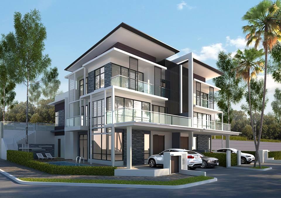 New Project Melawati of 18units of SemiD and 1 Bungalow Taman Melawati Location Near Sunway Rydgeway & 16Quartz
