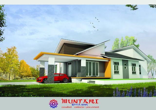 Pelan Rumah Semi D Moden Hebat Tanah Jeli Kelantan