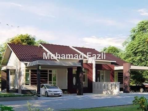Pelan Rumah Semi D Moden Power Negeri Kelantan Tanah Untuk Dijual Properties In Negeri Kelantan