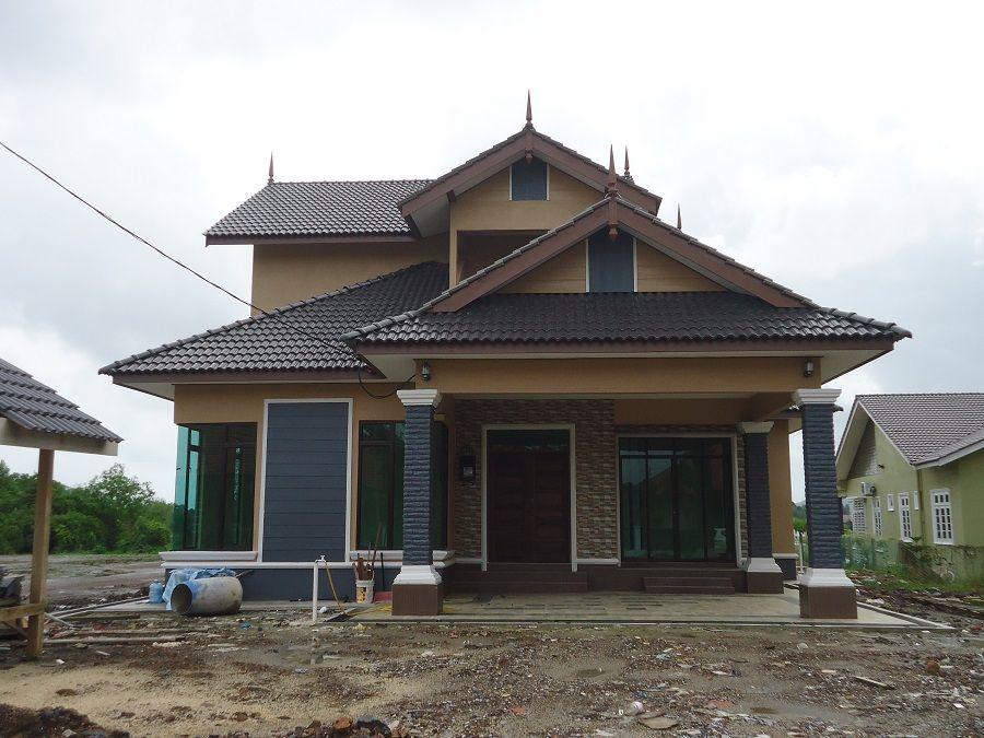 Pelan Rumah Setingkat 4 Bilik Power Pelan Rumah Banglo Setingkat 4 Bilik Rumah 408