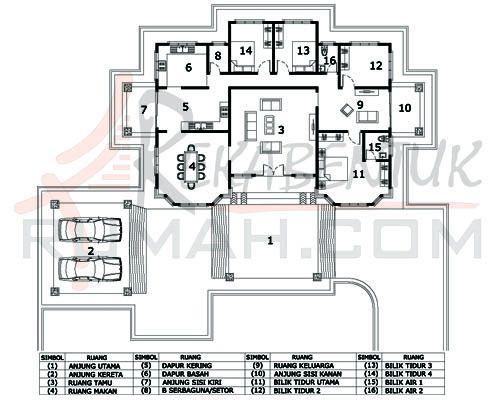 Pelan Rumah Setingkat 7 Bilik Baik Design Rumah Setingkat Archives Page 2 Of 3 Rekabentuk