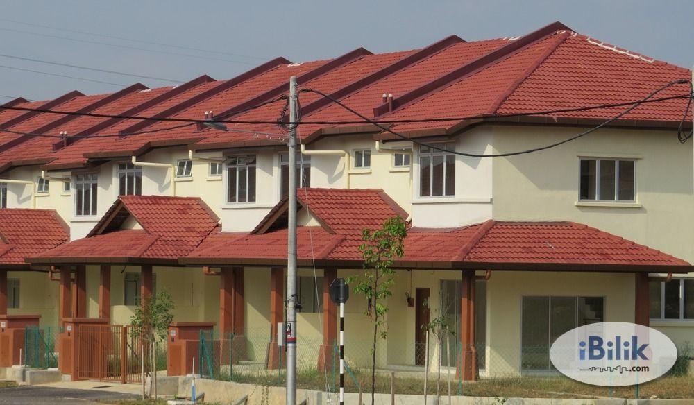 Pelan Rumah Sewa Menarik for Rent Rumah Double Sty 4 Bilik Taman Salak Perdana Sepang