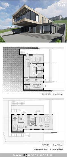 modern villa in Faroe island designed by NG architects