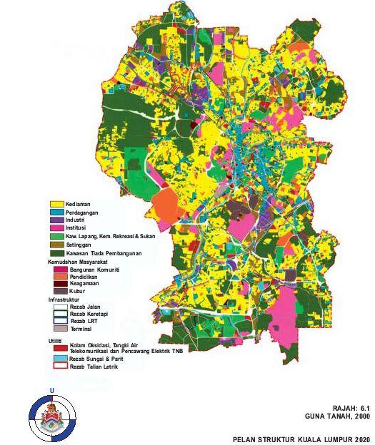 Pelan Rumah Tanah Kecil Baik Pelan Struktur Kuala Lumpur 2020 Guna Tanah Dan Strategi Pembangunan