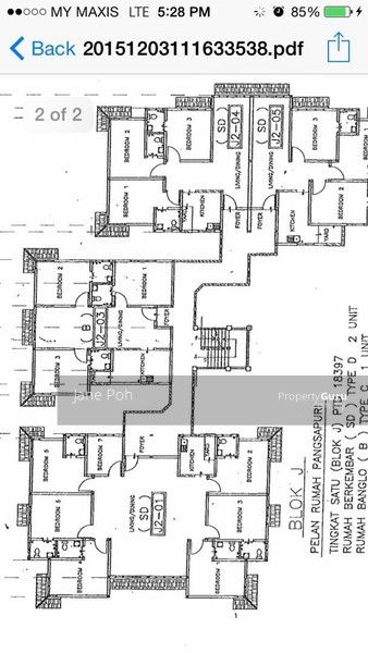 Pangsapuri Taman Desa Siswa Parit Raja Parit Raja Batu Pahat Johor 7 Bedrooms 1924 Sqft Apartments Condos Service Residences for Sale