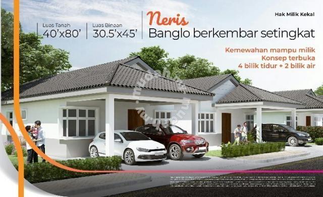 Rumah semid berkembar setingkat sungai petani Amanjaya PUNCAK SURYA Houses new property in Sungai Petani Kedah
