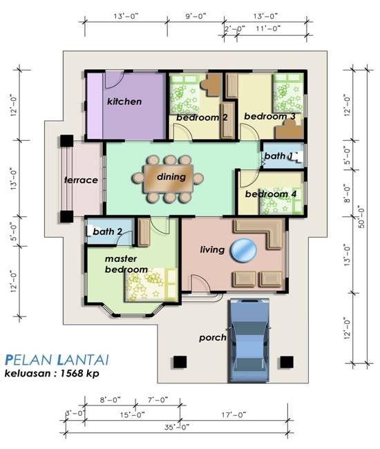 Plan Rumah Teres