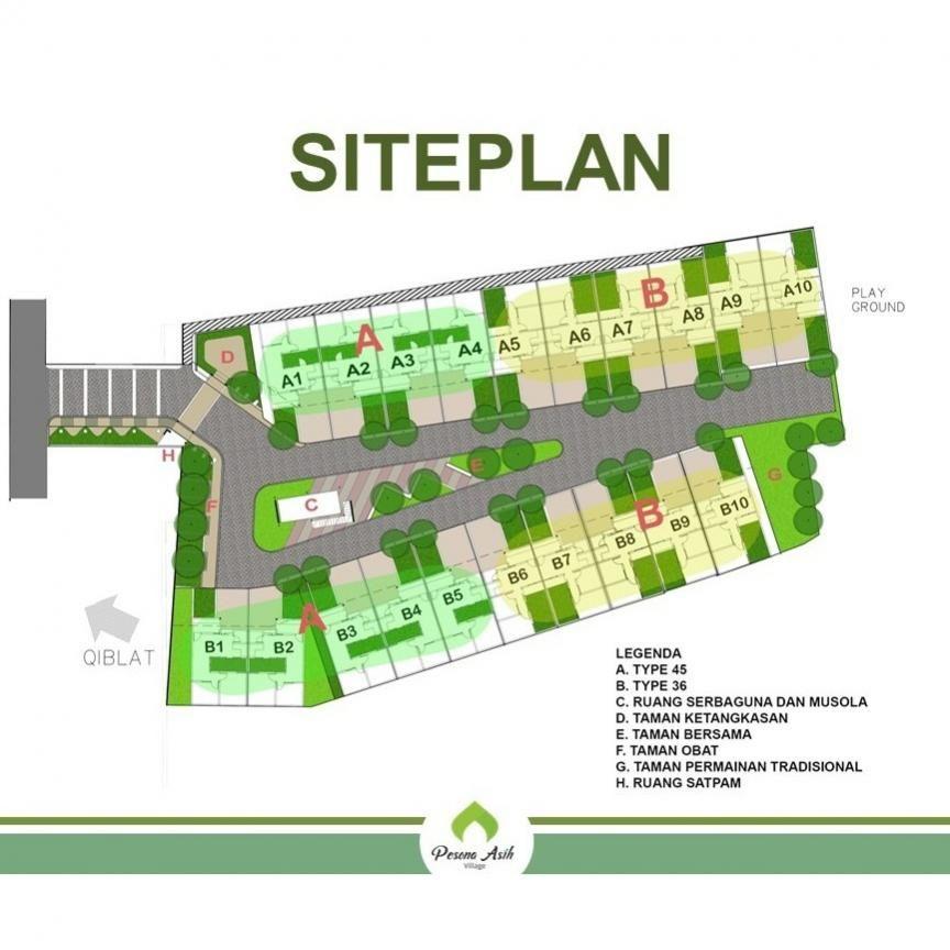 d tipe 36 di pusat kota cimahi 05 pav site plan
