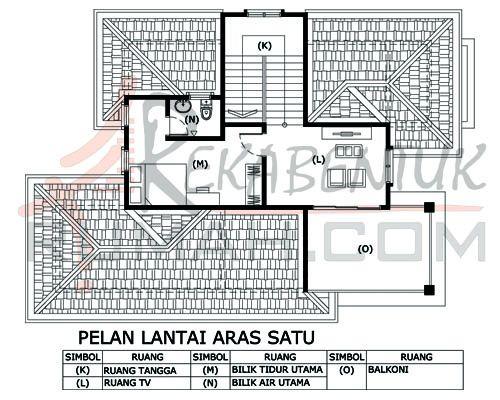 DESIGN RUMAH C2 05 3 bilik 2 bilik air 33 x44′ – 1749 kaki persegi