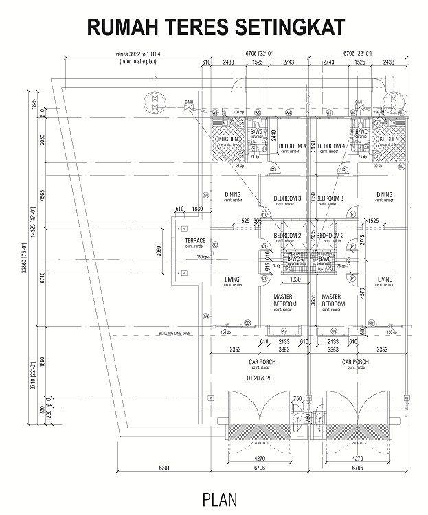 Struktur Rangka Konkrit Bumbung Genting Simen Dinding Batu Bata Simen Batu Bata Tanah Tingkap Tingkap aluminium & Tingkap Tergantung atas Ram