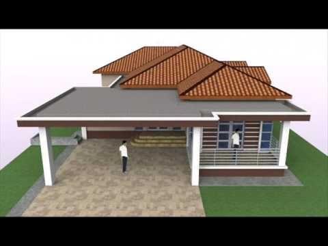 Pelan Tapak Rumah Banglo Hebat Rekabentuk Pelan Banglo Setingkat 4 Bilik Tidur Di Perak Darul